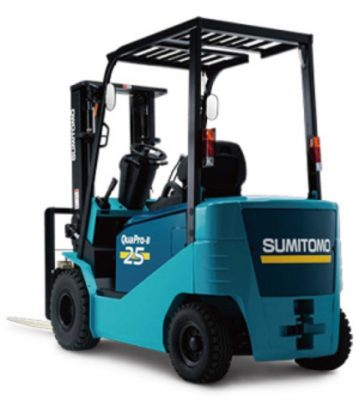 sửa xe nâng điện sumitomo